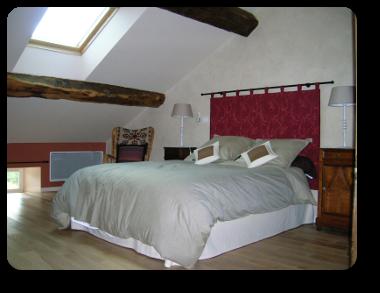 Chambre 1 lit pour 2 personnes 2eme étage